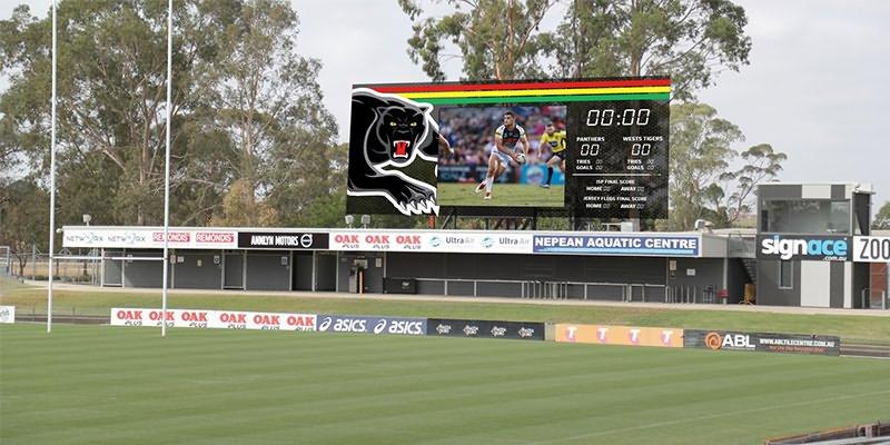Стадион светодиодный дисплей