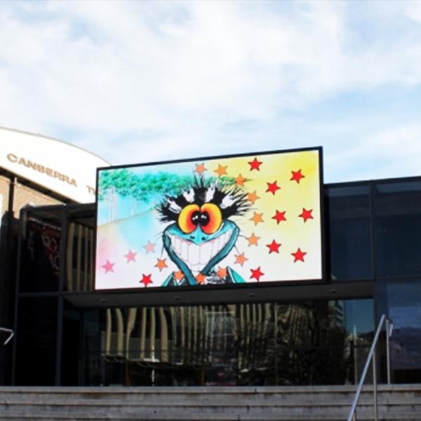 Преимущества уличного цифрового светодиодного дисплея в рекламе
