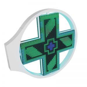 Грейс Аптека крест светодиодный дисплей