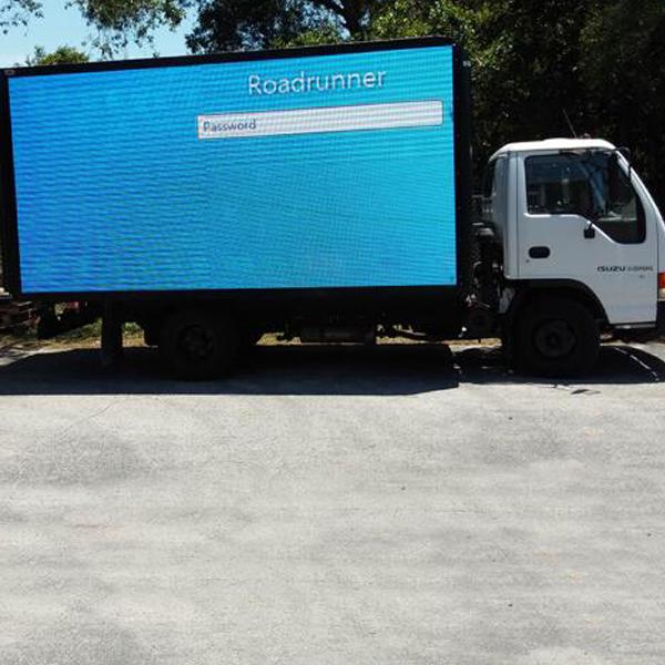 Tampa грузовик светодиодный дисплей