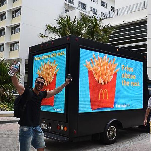 Австралийский клиент грузовик светодиодный экран