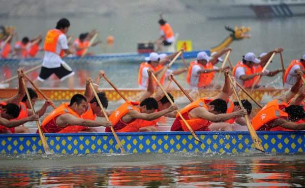 Фестиваль драконов в Китае