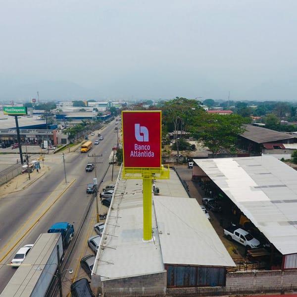 Светодиодные рекламные щиты P10mm Nationstar в Гондурасе