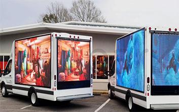 Светодиодный экран для грузовиков