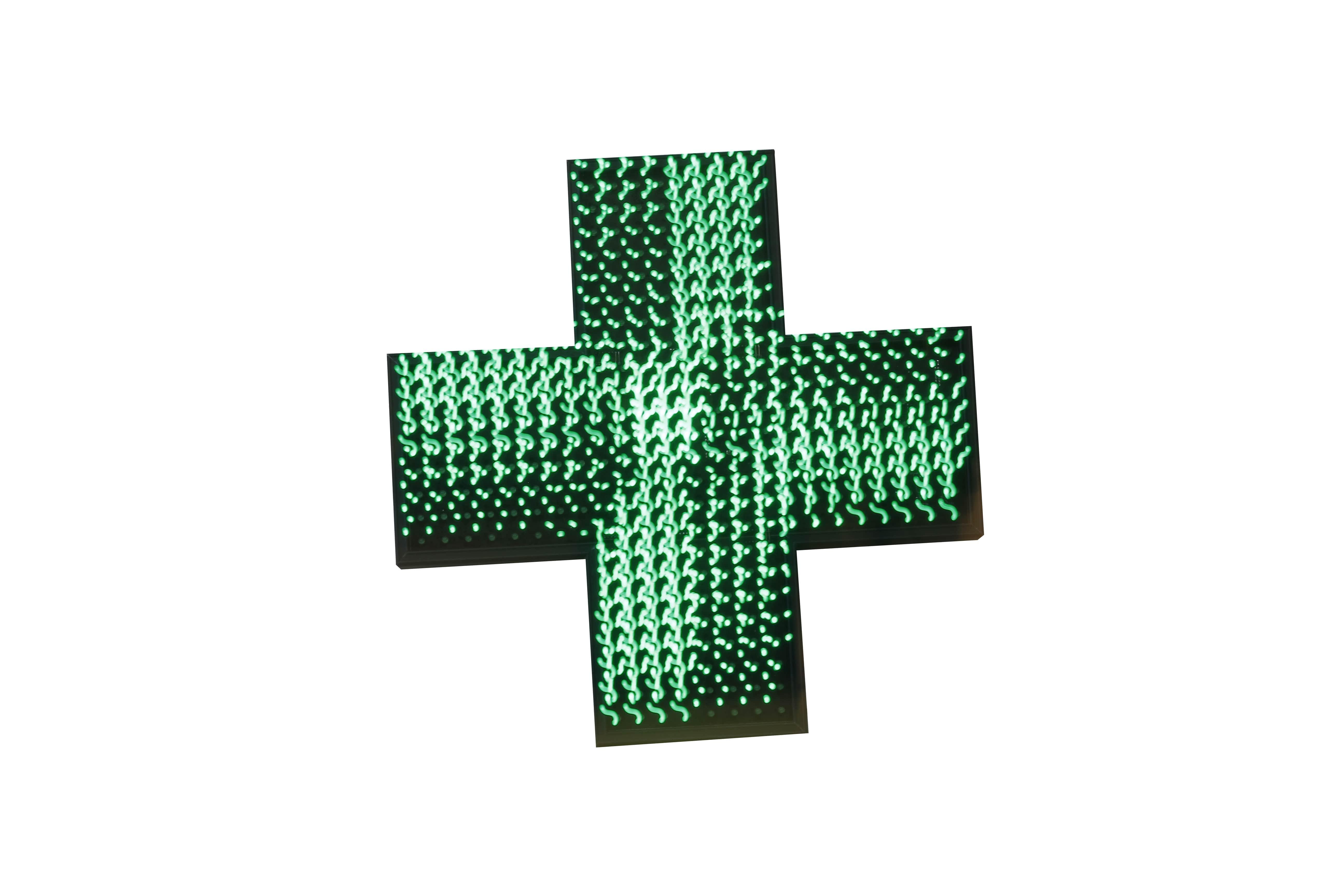 Нежный аптечный крест светодиодный дисплей