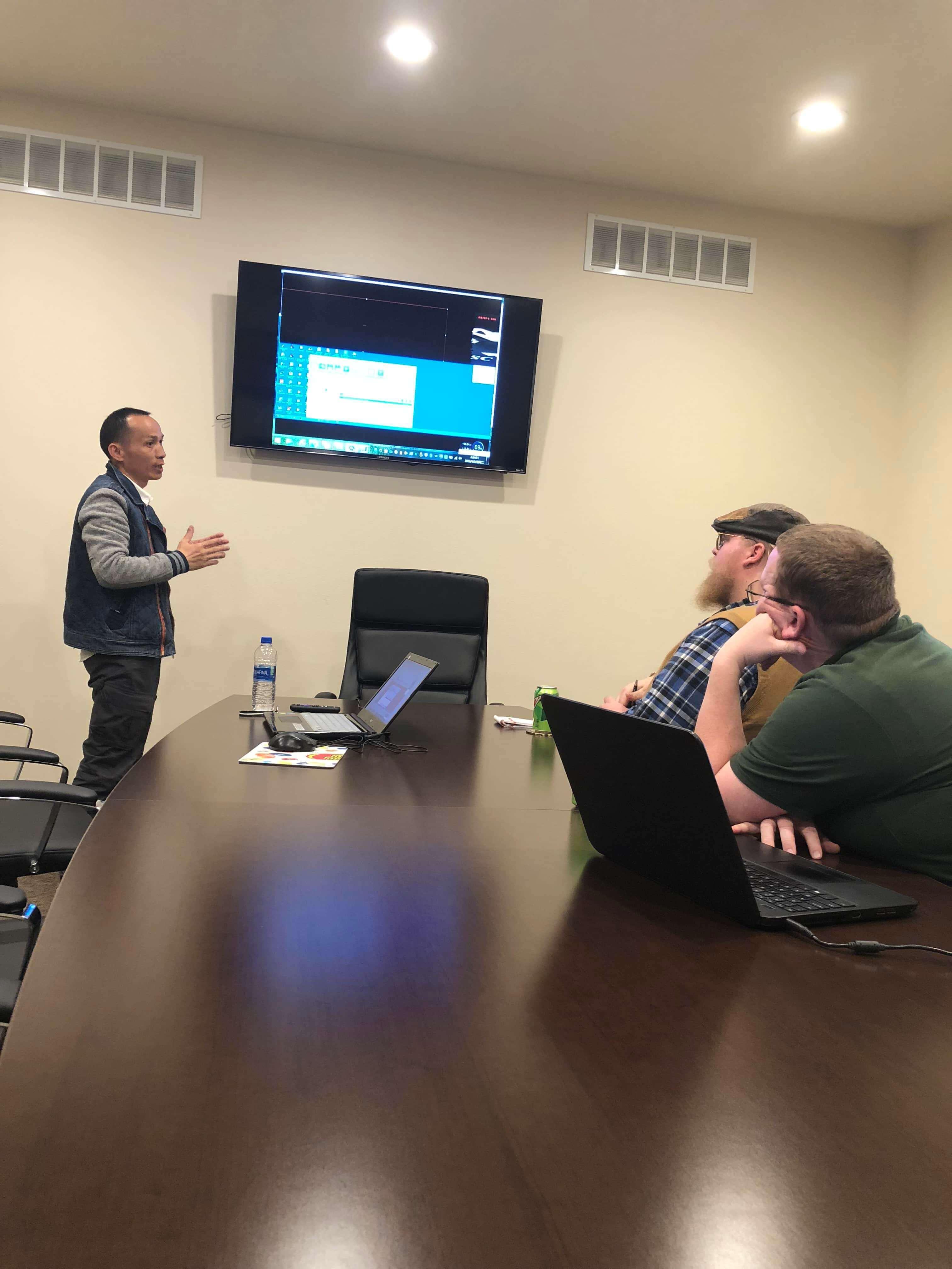Учебный курс на сайте в Рексбурге, штат Айдахо, США