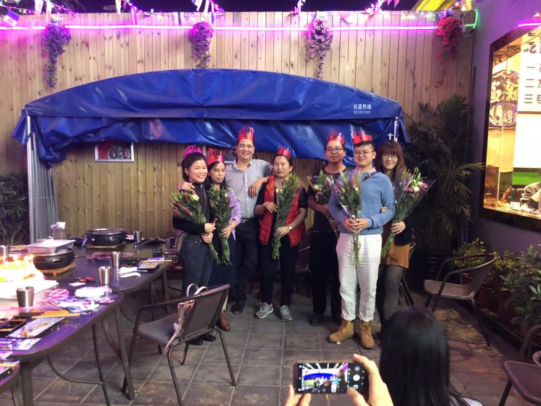 Команда Sunrise праздновала Рождество вместе